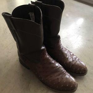 Larry Mahan Ostrich boots